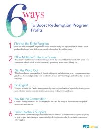 6 Ways To Boost Redemption Program Profits
