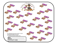Thanksgiving Collection Sheet to Gobble up Box Tops