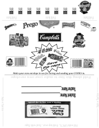 Campbell's Collection Envelope