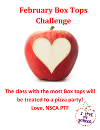 Feburary Box Tops Challenge
