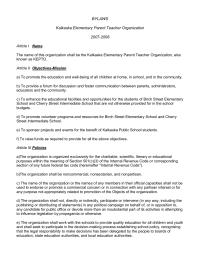 Kalkaska Elementary PTO Bylaws 2007-2008