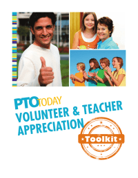 PTO Today: Volunteer & Teacher Appreciation Toolkit
