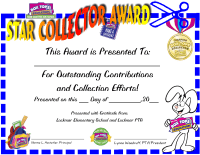 Star Collector Award- PDF