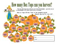 pumpkin patch collection sheet - 25 ct