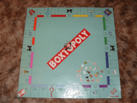 Boxtopoly Board Photo