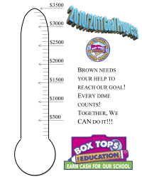 BoxTops Goal Thermometer