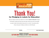 labels for education pto today