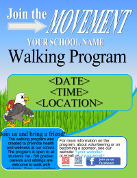 school walking program