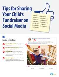Parent Handout: Promoting Fundraisers on Social Media