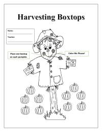 Harvesting Boxtops