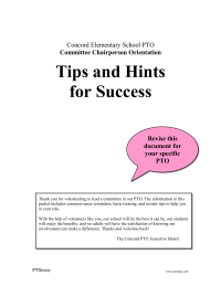 PTO Today: Committee Chair Success Tips