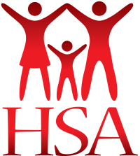 HSA Logo (red, vertical)