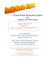 Family movie night pto today family movie night flyer maxwellsz