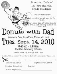 Donuts w/Dad