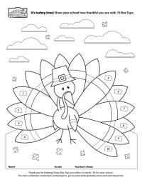 Orginal Turkey Collection Sheet from BTFE.com