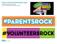 Back-to-School Photo Booth Signs