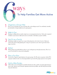 6 Ways To Help Families Get More Active