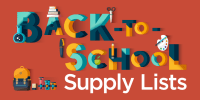 Back to School Supply List Twitter Graphic