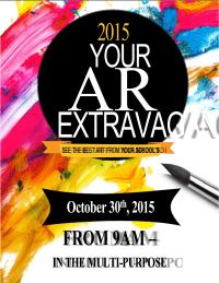 Student Art Show Invite