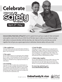 PTO Today: Internet Safety Week Flyer