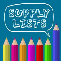 School Supply List Facebook Graphic