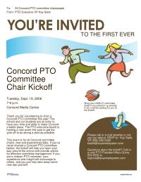 PTO Today: Committee Orientation Invitation