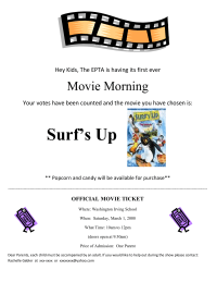 Movie Morning Announcement 2008