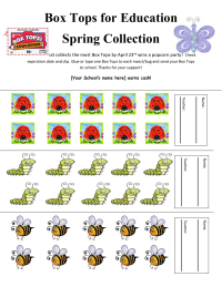 30 ct. Spring Insect/Bug Collection Sheet