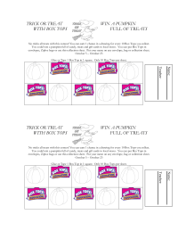 Trick or Treat with Box Tops