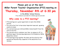 PTO Meeting Flyer (Color)