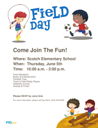 PTO Today: Field Day Poster