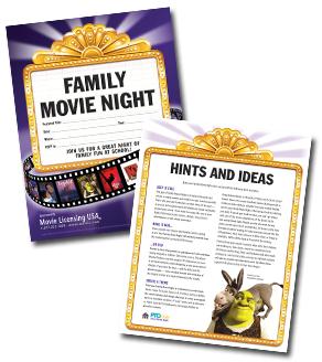 Family Movie Night Kit